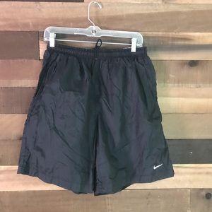 Vintage Nike black athletic shorts men's large